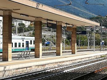 Risultati immagini per stazione ferroviaria sapri